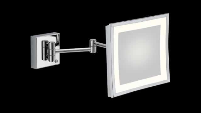 Specchio Bagno Con Braccio.Specchio Ingranditore Da Bagno Con Luce